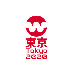 Concept 2020 summer olympics games olympiad vector