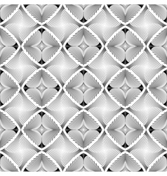 Design seamless diamond striped geometric pattern vector image