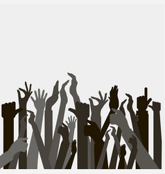 Hands up voting vector