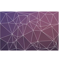 purple blue pink geometric background with mesh vector image