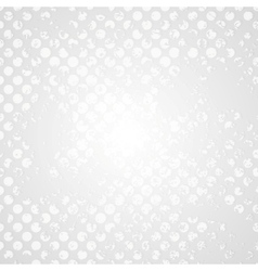 Retro grunge halftone grey design vector