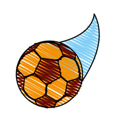 soccer ball icon image vector image