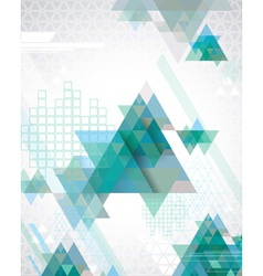 TechnoTriangles vector image