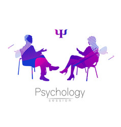 The psychologist and the client psychotherapy vector