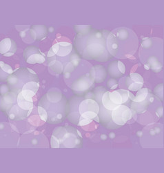 Abstract purple circular bokeh background vector
