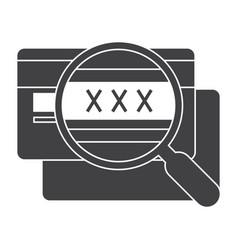 cvv code icon vector image