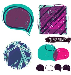 Abstract background and bubble speech vector