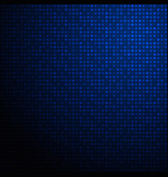 abstract of high tech futuristic gradient blue vector image