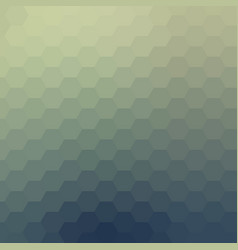 Abstract polygonal hexagonal shapes background vector