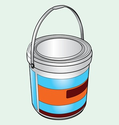 Chemical bucket vector