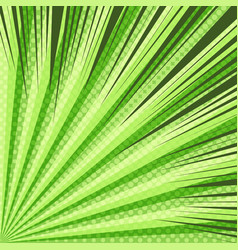 comic page dynamic green concept vector image