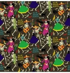 day dead dia de los muertos vector image