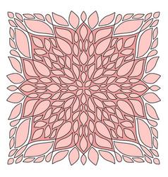 Fashionable bandana art interior poster design in vector