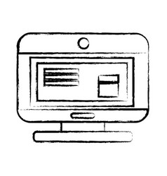 Figure computer technology with document data vector