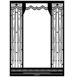 Grid frame vector