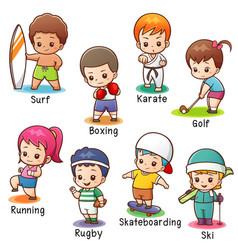 Kids 02 vector