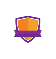 shield business techonogy logo vector image