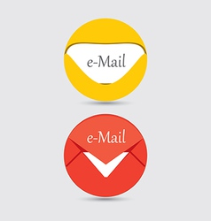 email icon 2 vector image vector image