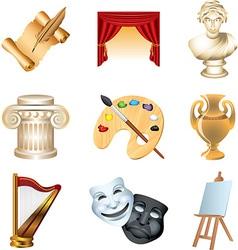 Icons art vector