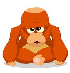 Orangutans vector