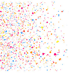 Abstract explosion confetti vector