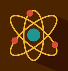 atom design vector image