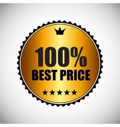 Best Price Golden Label vector