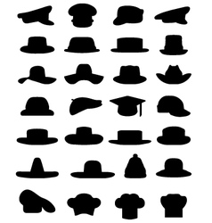 caps and hats vector image