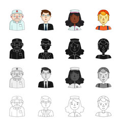 education profession hobby and other web icon in vector image