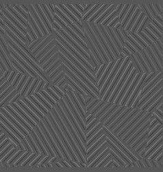 Gray color geometric pattern with lines vector