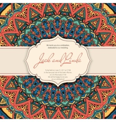 Invitation arabic vector image