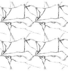 Realistic broken glass seamless pattern vector