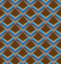 Trapezoid seamless pattern background vector