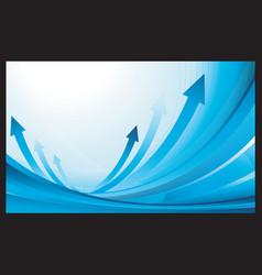 blue finance business background vector image