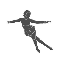 sport figure skating vector image