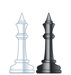 chess kings vector image