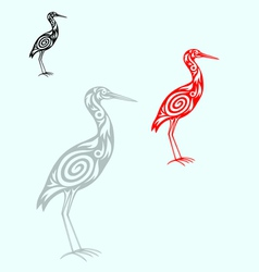 Egret vector