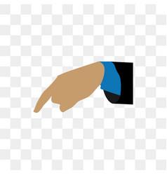 hand gesture design template vector image