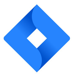 Jira symbol vector