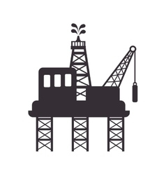 Plant oil industry vector