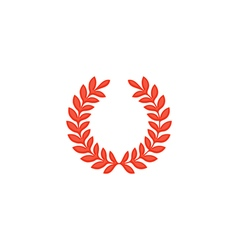 Wreath Icon vector image