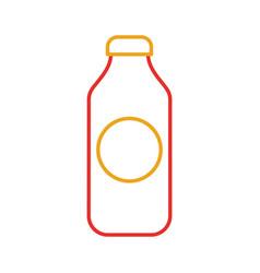 bottle juice drink market product element vector image