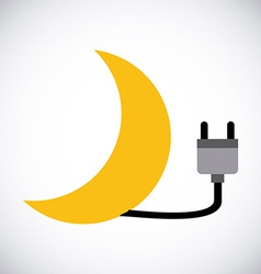 energy power vector image