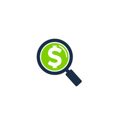 Find money logo icon design vector