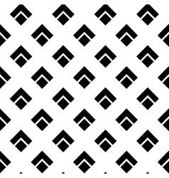 Geometric White Black Rhombus Pattern vector