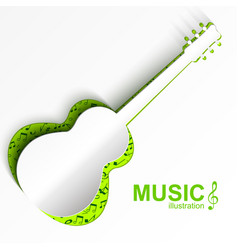 Musical instrument concept vector