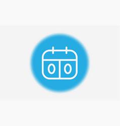 score board icon sign symbol vector image