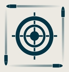 Target symbol vector image