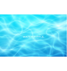 water realistic ripple great summer design for vector image