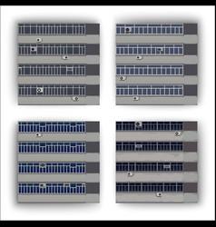 windows pattern vector image